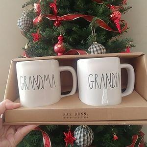 Rae Dunn Grandma grandpa new in box
